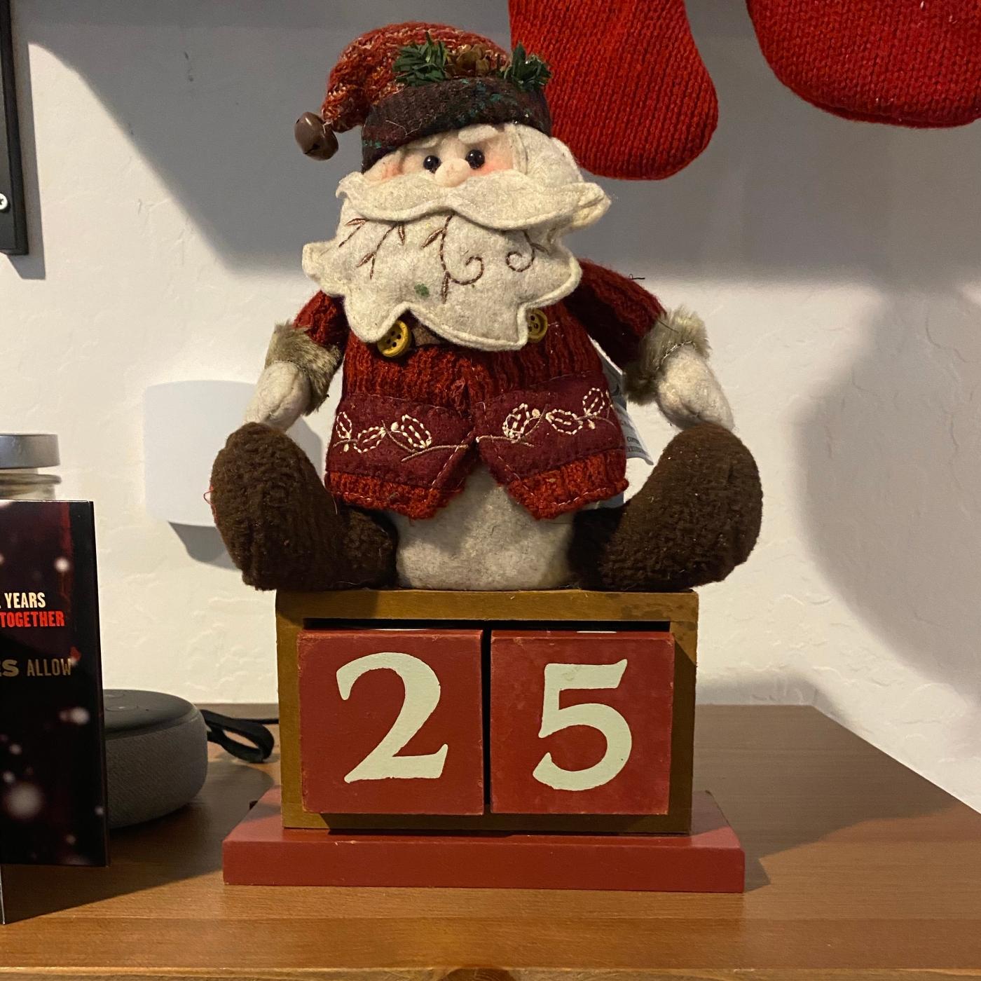 Days Till Christmas 1