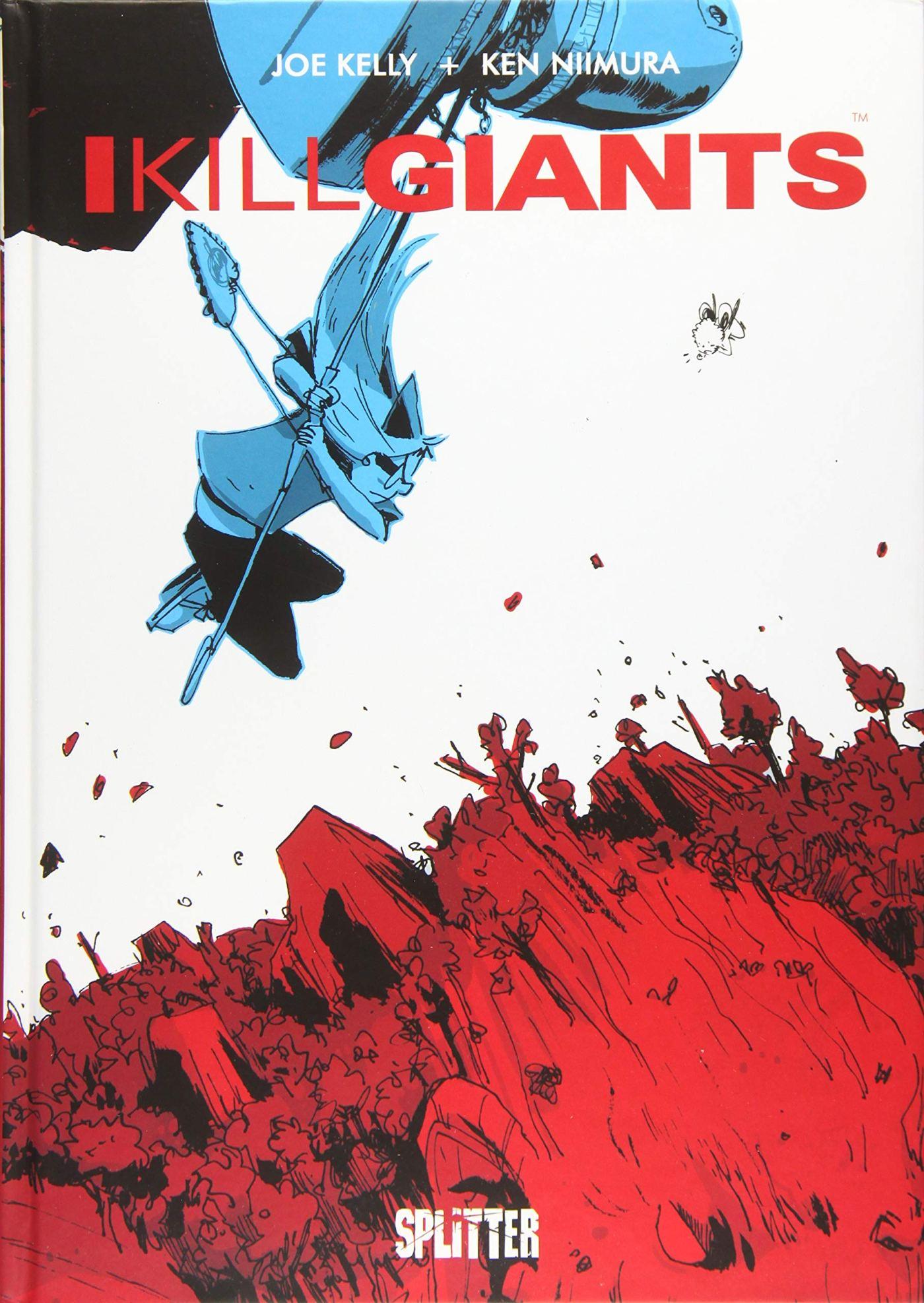 I Kill Giants Cover
