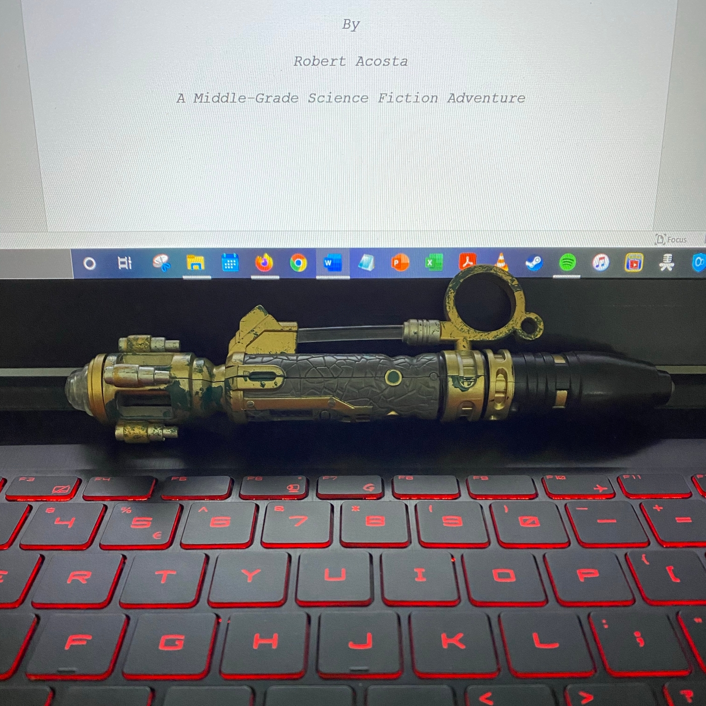 River Song Sonic Screwdriver Keyboard