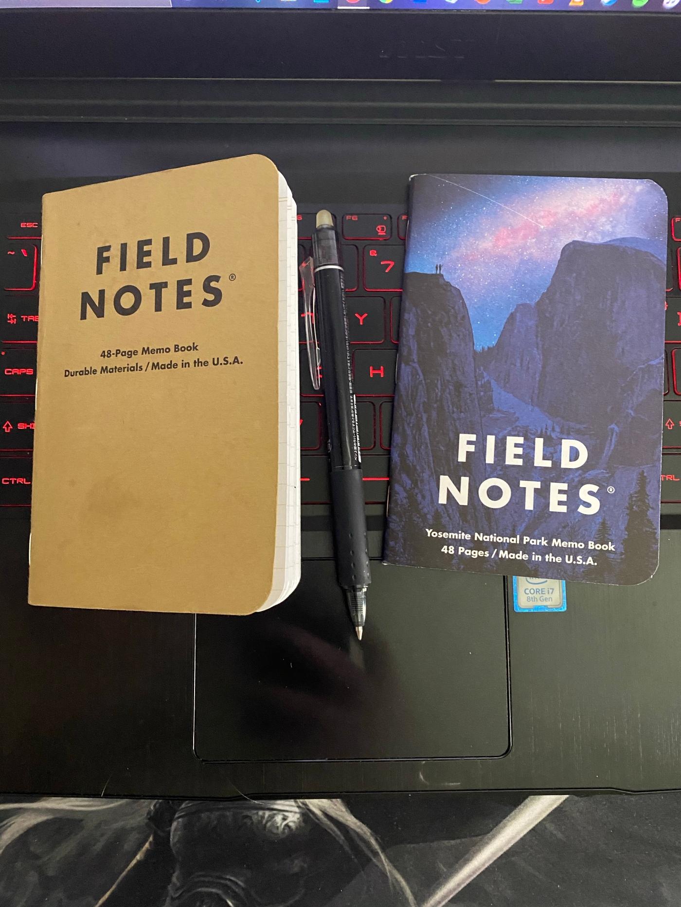 Field Notes Transfer