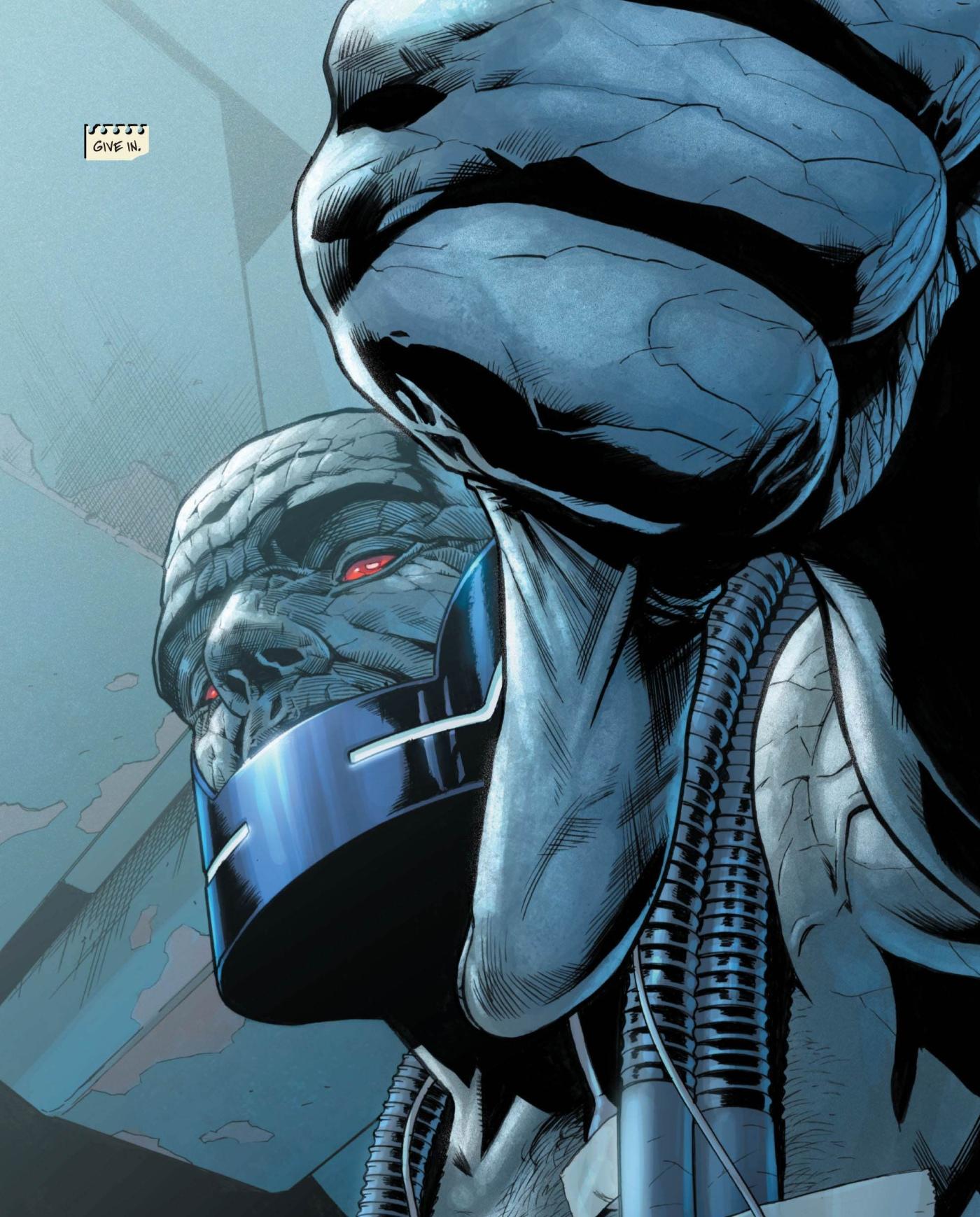 JG Jones Darkseid Final Crisis