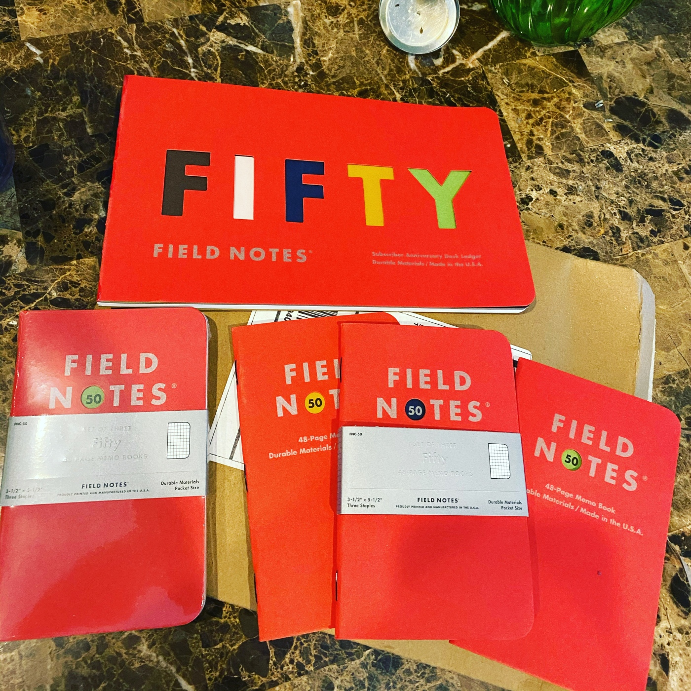 field notes fifty edition