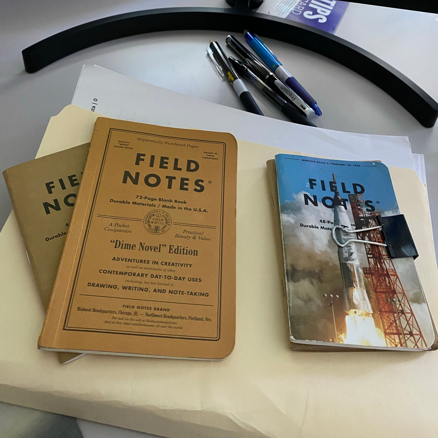 work notebooks