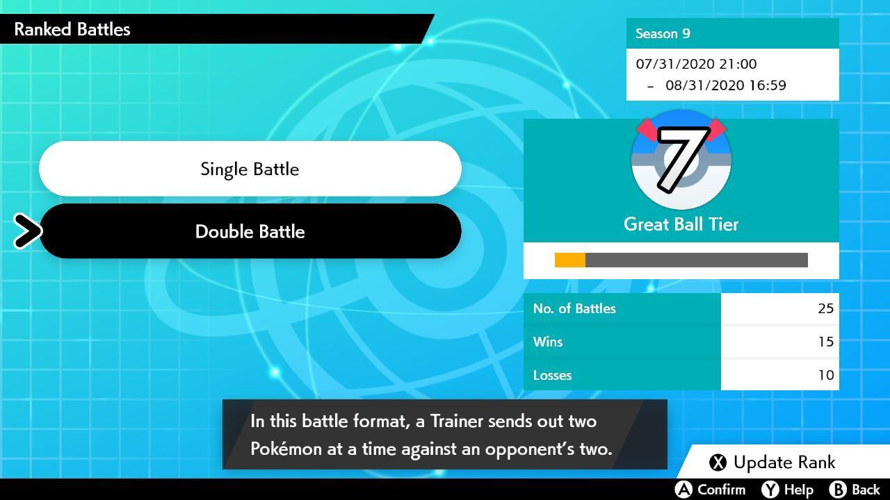 Pokémon online rank